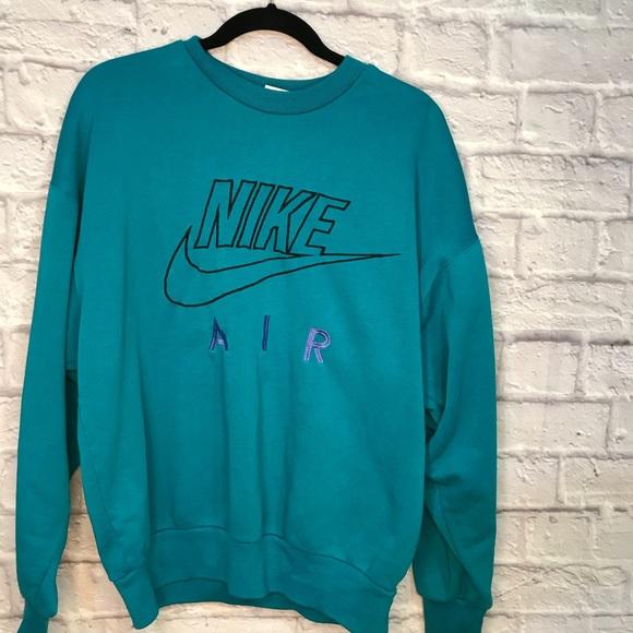 Nike Sweaters | Air Blue Sweater | Poshmark